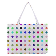 Circle Pattern  Medium Tote Bag