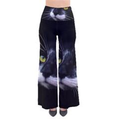 Face Black Cat Pants