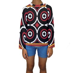Toraja Pattern Ne limbongan Kids  Long Sleeve Swimwear