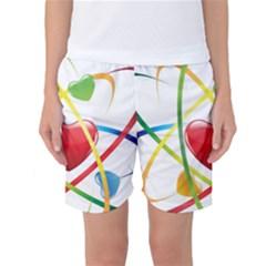 Love Women s Basketball Shorts