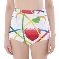 Love High-Waisted Bikini Bottoms