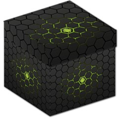 Green Android Honeycomb  Storage Stool 12