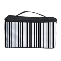Barcode Pattern Cosmetic Storage Case