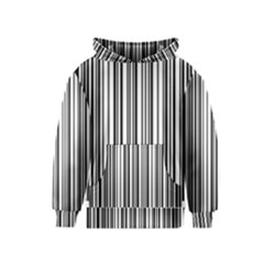 Barcode Pattern Kids  Pullover Hoodie