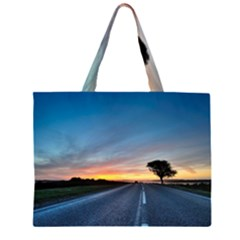 Tree At Night Widescreen Hd Wallpapers Large Tote Bag