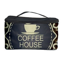 Coffee House Cosmetic Storage Case
