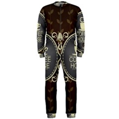 Coffee House OnePiece Jumpsuit (Men)