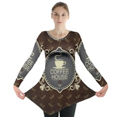 Coffee House Long Sleeve Tunic