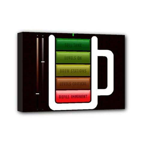 Black Energy Battery Life Mini Canvas 7  x 5