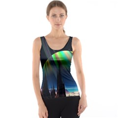 Planets In Space Stars Tank Top