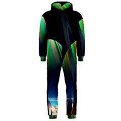 Planets In Space Stars Hooded Jumpsuit (Men)