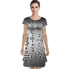 Science Formulas Cap Sleeve Nightdress