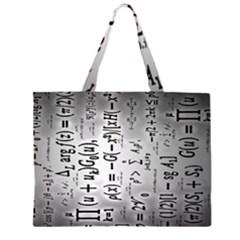 Science Formulas Large Tote Bag