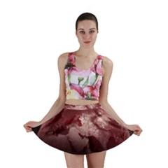 Planet Fantasy Art Mini Skirt