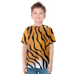 Tiger Skin Pattern Kids  Cotton Tee