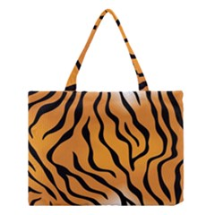 Tiger Skin Pattern Medium Tote Bag