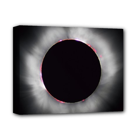 Solar Eclipse Deluxe Canvas 14  x 11