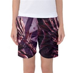 Fantasy Art Legend Of The Five Rings Fantasy Girls Women s Basketball Shorts