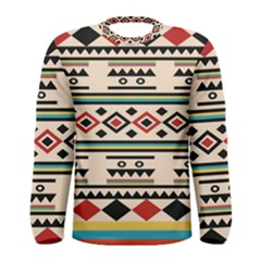 Tribal Pattern Men s Long Sleeve Tee