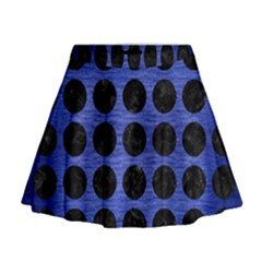 CIR1 BK-MRBL BL-BRSH (R) Mini Flare Skirt