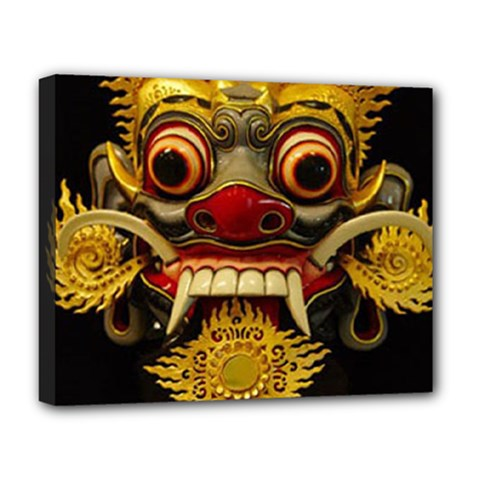 Bali Mask Deluxe Canvas 20  x 16