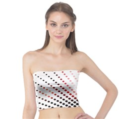 Radial Dotted Lights Tube Top