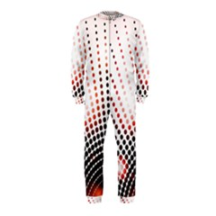 Radial Dotted Lights OnePiece Jumpsuit (Kids)