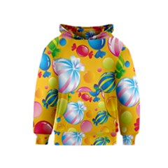 Sweets And Sugar Candies Vector  Kids  Pullover Hoodie