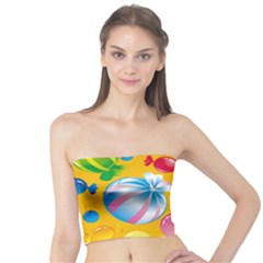 Sweets And Sugar Candies Vector  Tube Top