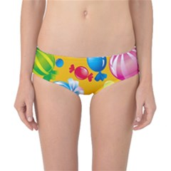 Sweets And Sugar Candies Vector  Classic Bikini Bottoms