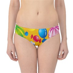Sweets And Sugar Candies Vector  Hipster Bikini Bottoms