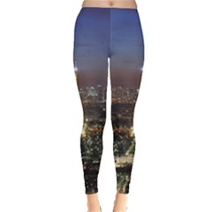 Paris At Night Leggings
