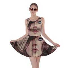 Beautiful Women Fantasy Art Skater Dress