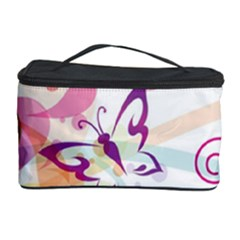 Butterfly Vector Art Cosmetic Storage Case