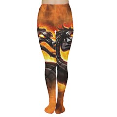Dragon And Fire Women s Tights