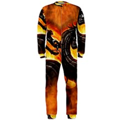 Dragon And Fire OnePiece Jumpsuit (Men)