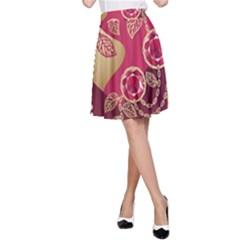 Love Heart A-Line Skirt