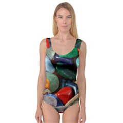 Stones Colors Pattern Pebbles Macro Rocks Princess Tank Leotard