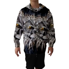 Lion Robot Hooded Wind Breaker (Kids)