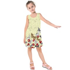 Fun Pattern Kids  Sleeveless Dress