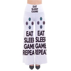 Eat sleep game repeat Pants
