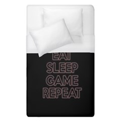 Eat Sleep Game Repeat Duvet Cover (single Size)