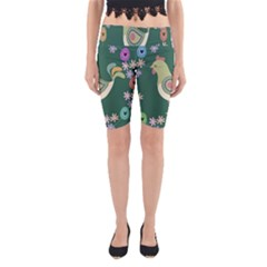 Easter Yoga Cropped Leggings