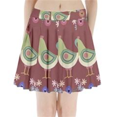 Easter Pleated Mini Skirt