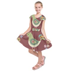 Easter Kids  Short Sleeve Dress