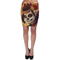 Fantasy Girl Art Bodycon Skirt