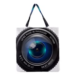 Camera Lens Prime Photography Grocery Tote Bag