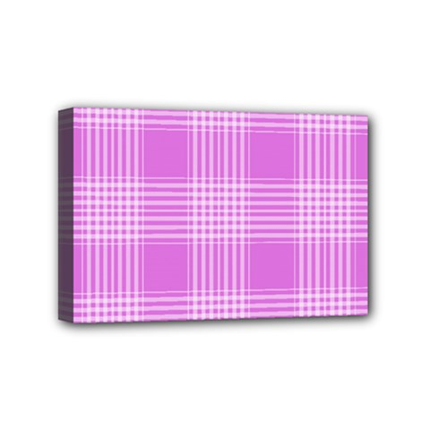 Seamless Tartan Pattern Mini Canvas 6  x 4