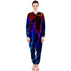 Cracked Out Broken Glass OnePiece Jumpsuit (Ladies)