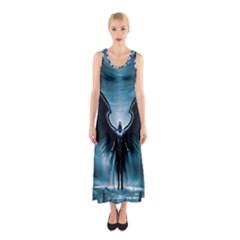 Rising Angel Fantasy Sleeveless Maxi Dress